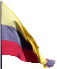 Flag shared by Peru and Ecuador and Columbia
