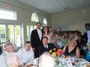 With the groom's family table