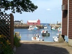 Rockport streets and alleys wrap the port, offering multiple views of Motif #1