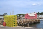 Lurking lobster pots and Motif #1 in Rockport, MA