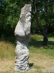The old man of the quarry is hte one piece of conscious art in the park