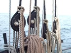 Stowed rigging lines