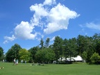 A new tent at Tanglewood is for hosting donor events