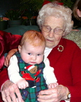 Lindsay and her great-grandma