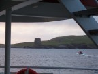 Mousa Broch awaits a dawn visit via zodiac