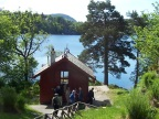 The shack where Grieg wrote much of his music