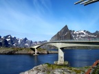 One of the many newly minted bridges connecting the Lofoten Islands