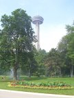 Viewing tower in Niagara Falls, Ontario