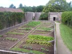 Vegetable gardens at Sainte-Marie Among the Hurons