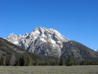 A mountain in the Grand Tetons