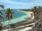 Beach on Bahia Honda Key, Florida