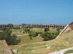 Central yard at Fort Jefferson, Dry Tortuggas