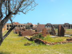 The officer&s quarters were not as sturdy as the fort, Fort Jefferson, Dry Tortuggas