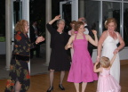 Dancing at the Wedding. Devin&s Mom, Aunt Joan, Mommy, and the Bride, Ellyn
