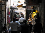 Shopping in Old City, Jerusalem