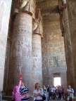 Wonderous decorations remain in the Temple of Hathor at Dendera