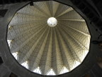 Inside view of the dome of the Church of the Annunciation, Nazareth