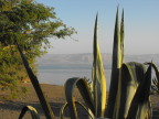 Sea of Galilee as seen from Capernum