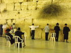 Praying at the Western/Wailing Wall, Old City, Jerusalem
