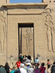 Entry portal to Philae Temple