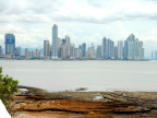 Panama City skyline viewed from the Old City