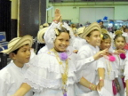 Dancers in traditional costumes at the Arts and Crafts fair at Panama City Convention Center