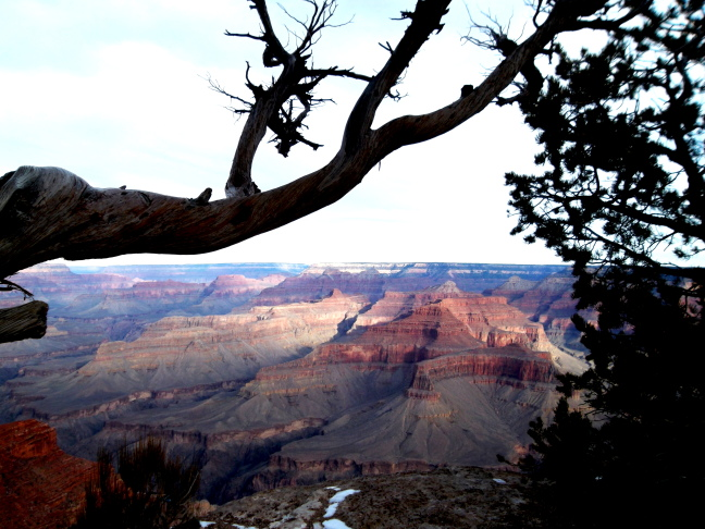 Dawn looking East from Hopi Point, Grand Canyon