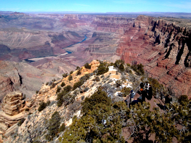 Eastern Grand Canyon and Colorado River from Desert Tower