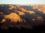 Western Grand Canyon at sunset