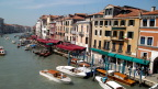 Looking North from the Ponte di Rialto over Venice&s Grand Canal