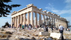 The Parthenon, eight Doric columns by seventeen, Athens