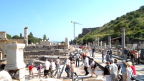 Excavation and restoration continue throughout Ephesus. Only 15% is yet uncovered.