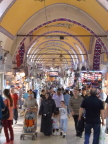One side aisle in Istanbul&s bazaar
