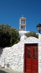 Entrance to the Monastery of Panagia Tourliani, Mykonos
