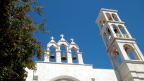 The bells on Monastery of Panagia Tourliani, Mykonos