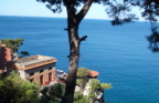 Villa clings to cliff in Naples