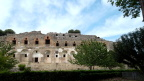 Temple of Venus in Pompei. Cremation crypts are beneath it.