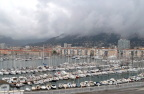 Yachts and fishing boats in Toulon Harbor