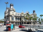 Old customs house, Barcelona Harbor