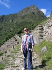 On the Inca Trail at Machu Pichu