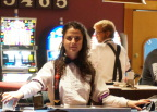 Dealer in Diamond Tooth Gertie's casino