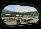 The pier at Skagway