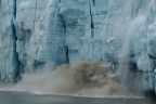 Caling creates a big splash at Margerie Glacier