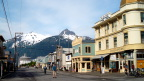 Downtown Skagway. 28 jewelry stores.