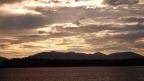 Sunset from the inside passage, AK