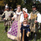 Lindsay joins the Royal Court at Ohio Renaissance Festival