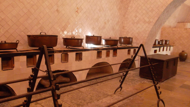 Kitchen in Sintra Palace