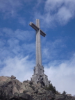 Mountaintop cross at Valley of the Fallen