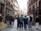 Juanjo guides us through Madrid's Old City in search of tapas