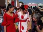 Joann checks out Feria fashion